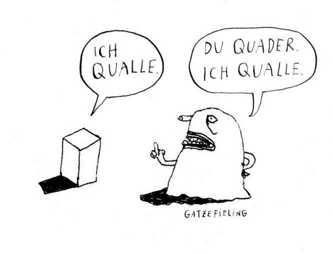 Quader & Qualle